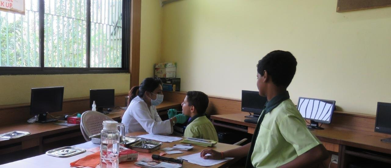 VHAG School Health Check Up & Awareness Programme<i>Dental Check Up</i>