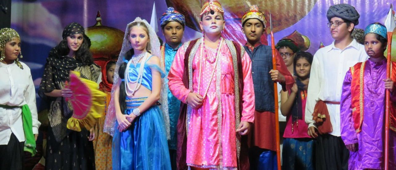 Annual Day Function 2017  <i>Aladdin-The Musical at School</i>