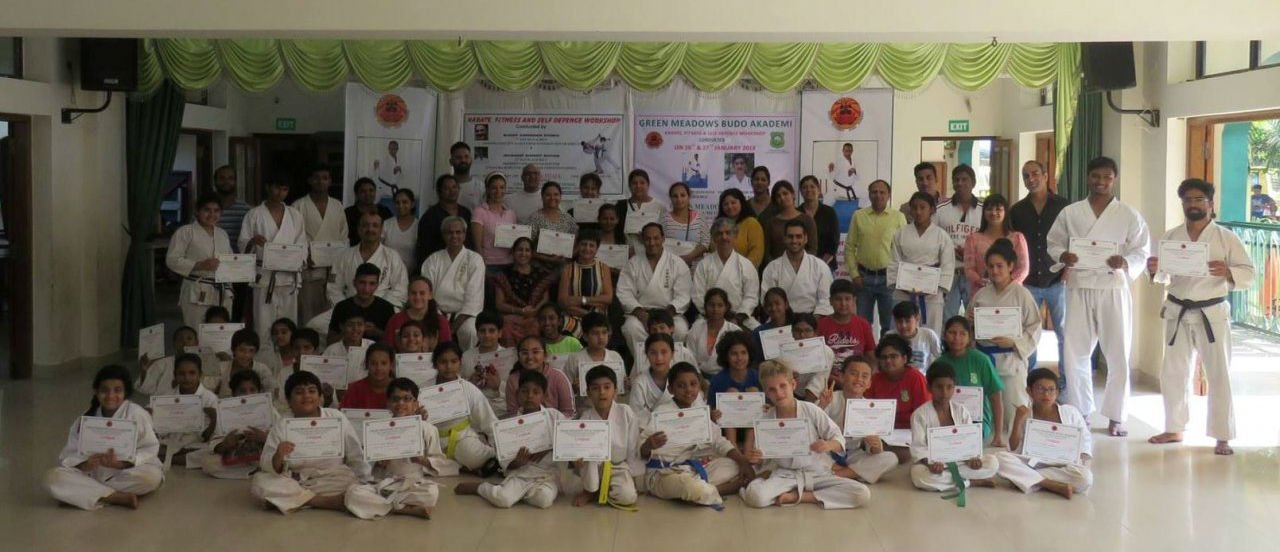 ANNUAL KARATE CAMP 2017<i>SELF DEFENCE WORKSHOP</i>